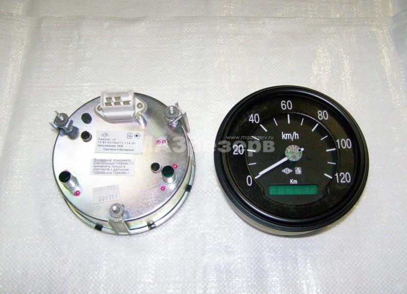 Спидометр н/о (под датчик ПД 8089-1) ПА 8046-1П.